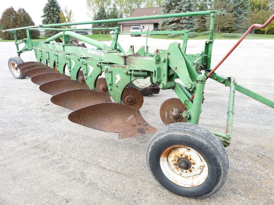 Oliver 7x16 Trip Beam Plow with Trip Coulters
