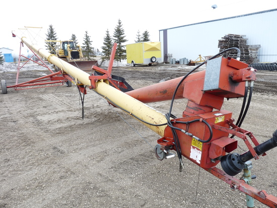 "Westfield FK 10"" x 71' Hydraulic Swing Out Auger"