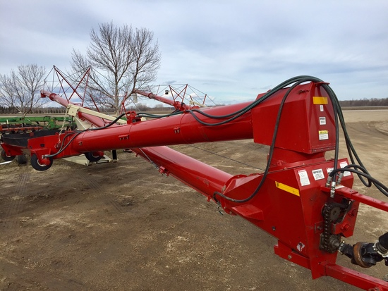 "Buhler/Farm King 13""x85' Mech Swing Auger"