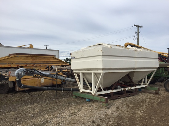 Haul-All 15' Tender with Side Mount Belt Conveyor