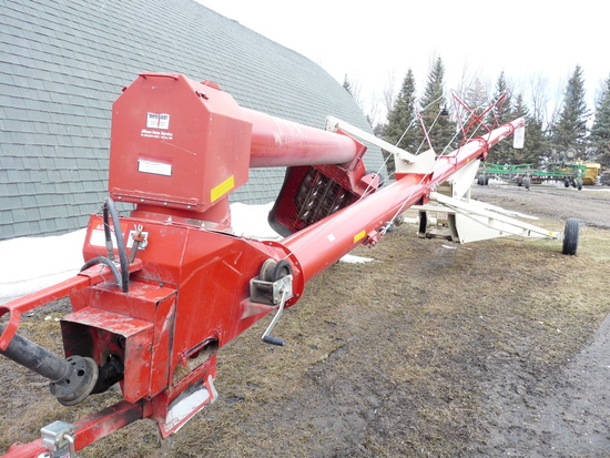 "Farm King 13""x70' Mech. Swing Auger"