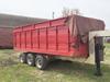Tri-Axle Gooseneck Trailer w/16' Box & Hoist