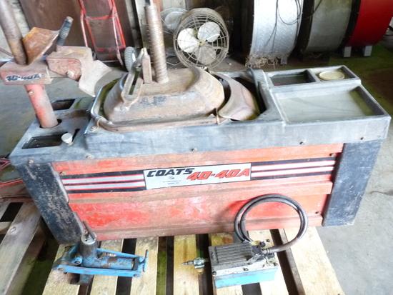 Coats 40-40A Tire Changer