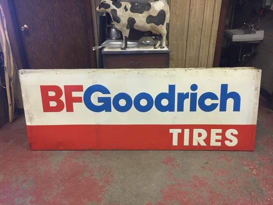 BF Goodrich Metal Sign