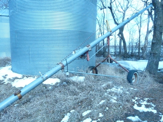Mayrath 6x35' Seed Treating Auger with Electric Motor