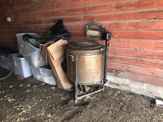 Antique Easy Electric Copper Washing Machine