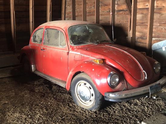 1974 Volkswagon Beetle