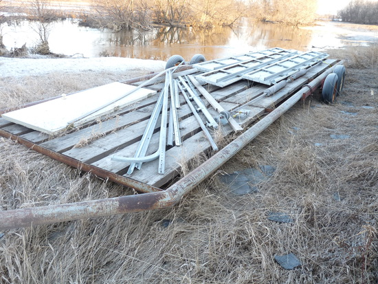 Donahue 28' Implement Trailer