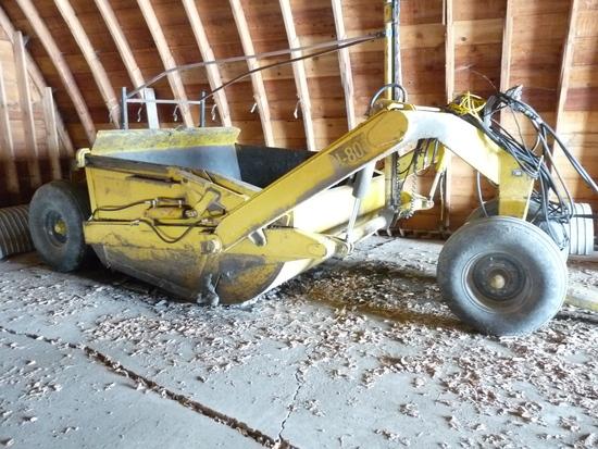 Ashland I-80 8 Yard Pushoff Scraper