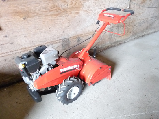 Yard Machines Rear Tine Tiller