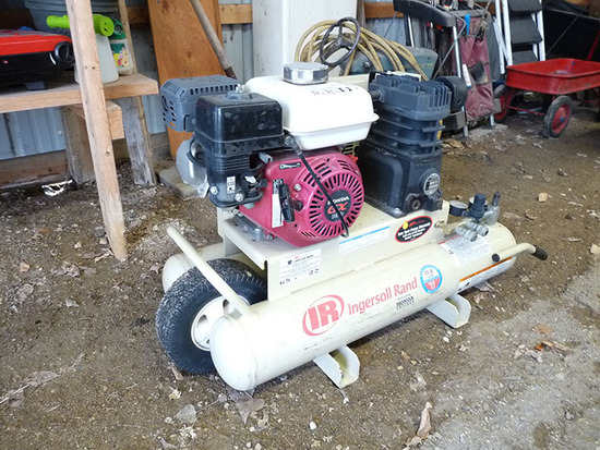 Ingersoll-Rand Air Compressor with Honda Engine