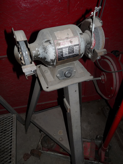 Bench Grinder and Stand
