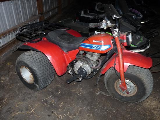 Honda 200 Three Wheeler