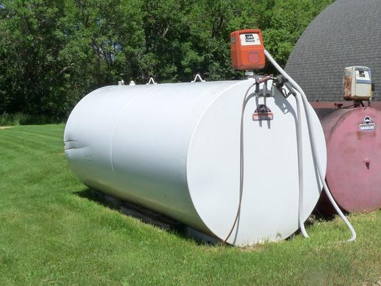 2000 Gallon Diesel Fuel Tank with Gasboy Pump