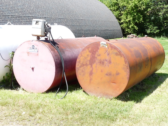 1000 Gallon Fuel Tank without Pump