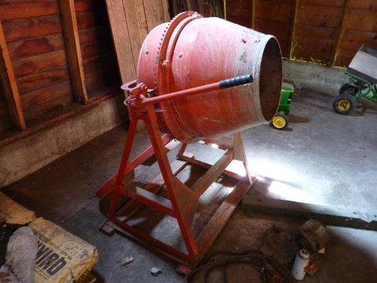 Small Batch Cement Mixer