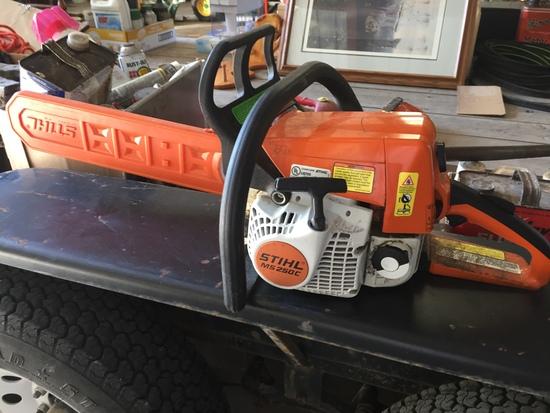 Stihl 250C Chainsaw