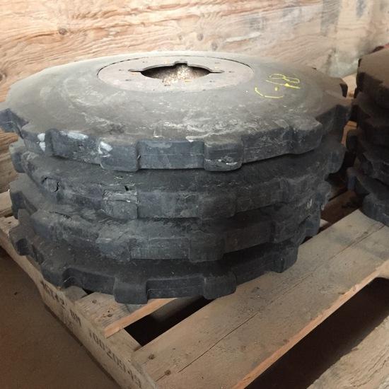 4 Trenching Wheels for ATV