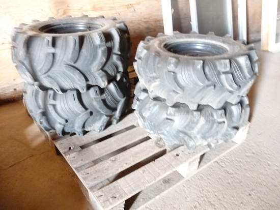 Set of 4 Polaris Ranger tires and rims