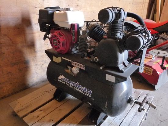 Air Compressor with Honda Motor
