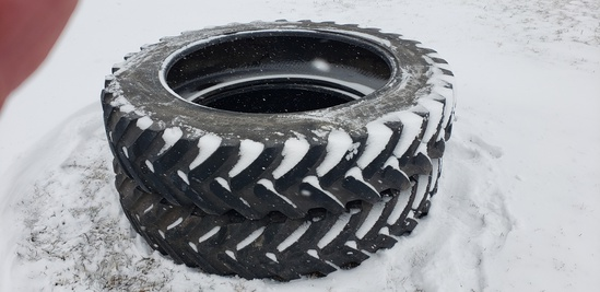 """Three 380/90R-46"""" Tractor Tires"""