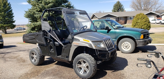 '12 Arctic Cat Prowler Side by Side