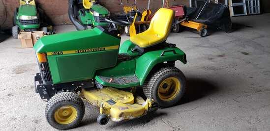 '2000 JD #425 Hydro Mower Tractor