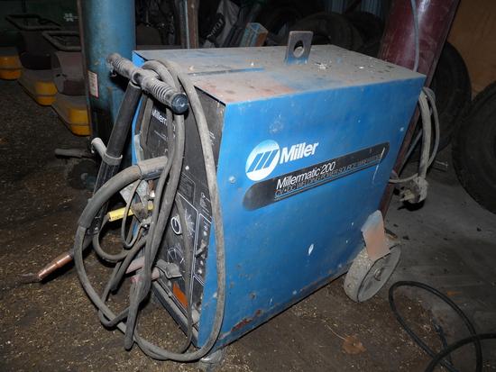 Millermatic 200 Wire Welder