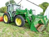John Deere 6410 MFWD Tractor
