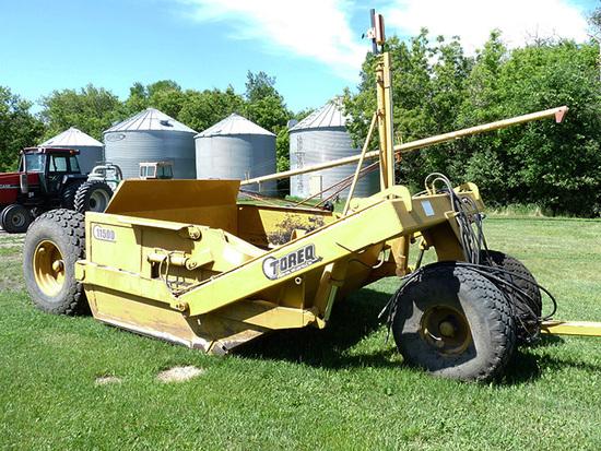 Late Model Toreq 11500 11.5 Yard Push Off Scraper