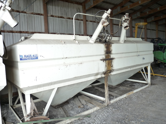 Haul-All 18' 2 Compartment Hard Top Tender