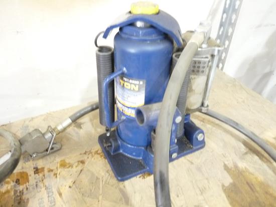 12 Ton Air/Hydraulic Bottle Jack