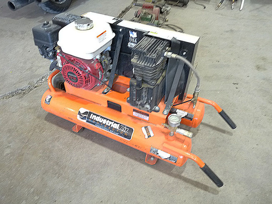 Industrial Air Portable Air Compressor with Honda Engine
