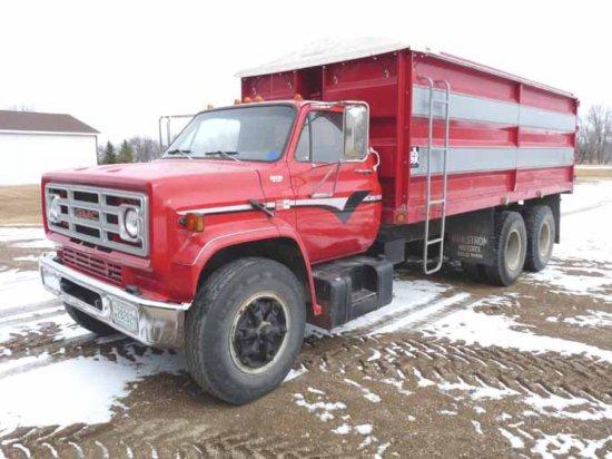 '85 GMC 7000 Twin Screw Tandem Truck