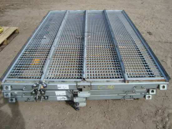 (3) Deep Tooth Sieves for JD S-680 Combine
