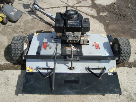 Pull Behind Mower with Gas Engine