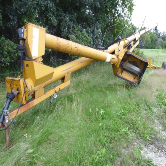 Alloway 10x71 Mechanical Swing Out Auger