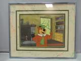 Yogi Bear Serigraph Art