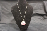 Signed Sterling Necklace w/Pendant - P. A. Smith