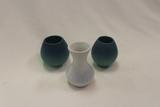 Set of 3 - Miniature Van Briggle Pottery