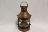 Tung Woo - Hong Kong Masthead Copper Lantern