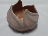 Van Briggle Pottery Lotus Flower Bowl in Dusty Rose