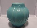 Van Briggle Pottery Large Yucca Vase in Ming Blue