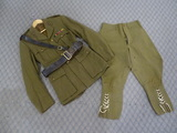 WWII British Royal Artillery Tunic & Pants w/Sam Brown Belt
