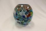 Murano Glass Globe Vase