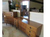 Stanley Dresser with Mirror and Highboy.