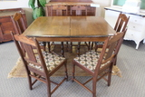 Jacobean Table w/ 6 Chairs