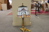 Tiffany Style Stained Glass lamp with shade