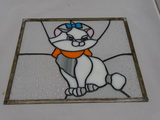 Stained Glass Cat.