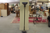 Tiffany Style Floor Lamp with Stained Glass Shade